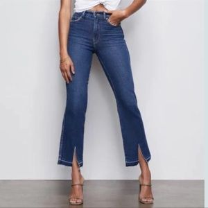 NWT Good American Good Curve Straight Release Jean